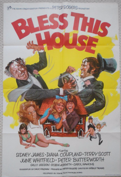 Bless this House, original UK 1sheet poster, Sid James, '72